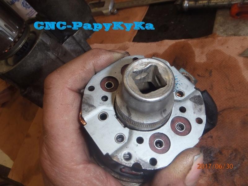 PapyKy, remet en état deux démareur pour S4 CRD. P6300012