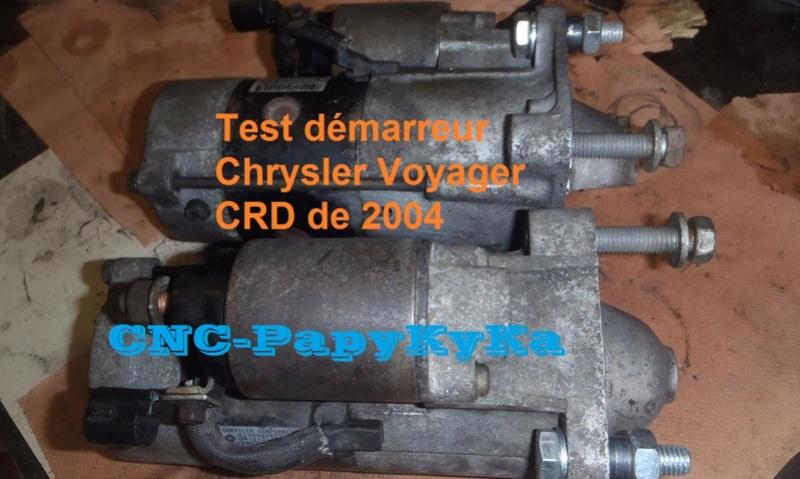PapyKy, remet en état deux démareur pour S4 CRD. P6300015