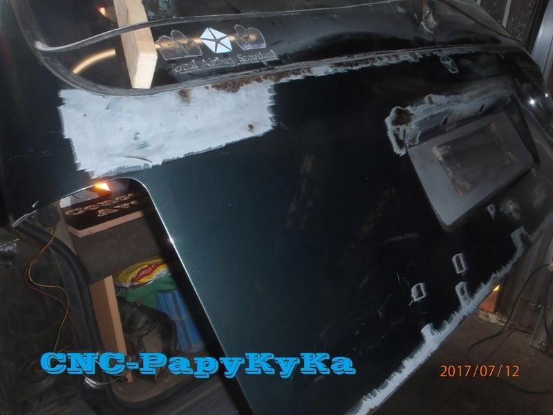 carrosserie - PapyKy, fait un peu de carrosserie sur le S2 de 570.xxx Km. P7120012