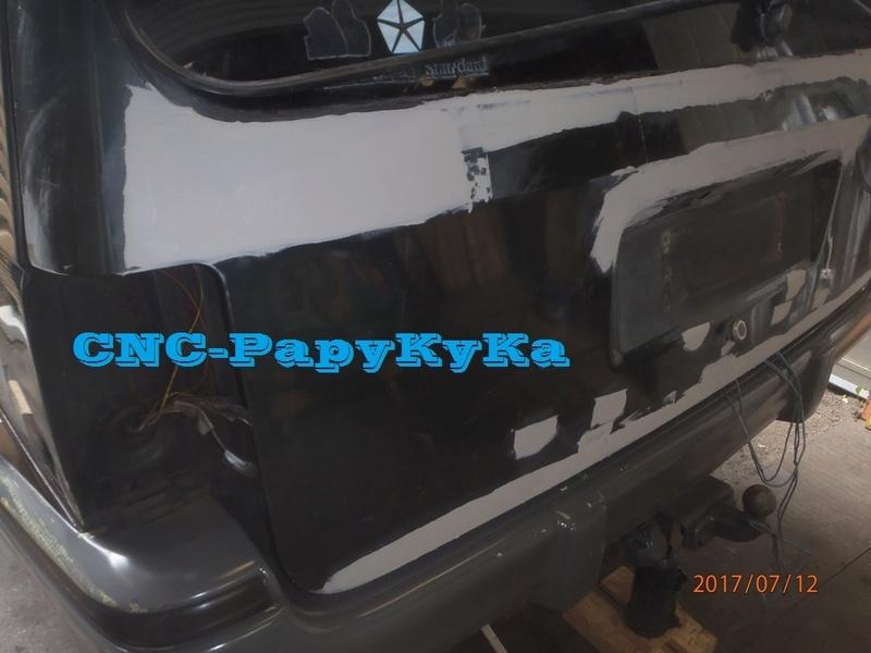 PapyKy, fait un peu de carrosserie sur le S2 de 570.xxx Km. P7120013