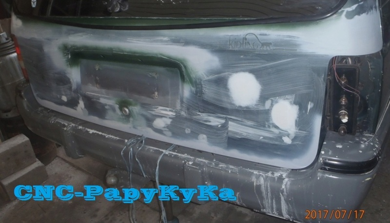 PapyKy, fait un peu de carrosserie sur le S2 de 570.xxx Km. P7170010