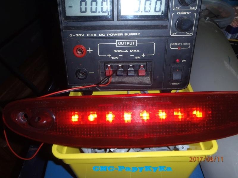 PapyKy, Modifie le 3 eme feux stop en Leds du S4. P8110011