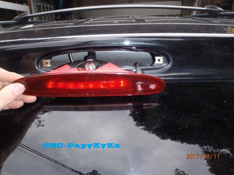 PapyKy, Modifie le 3 eme feux stop en Leds du S4. P8110012