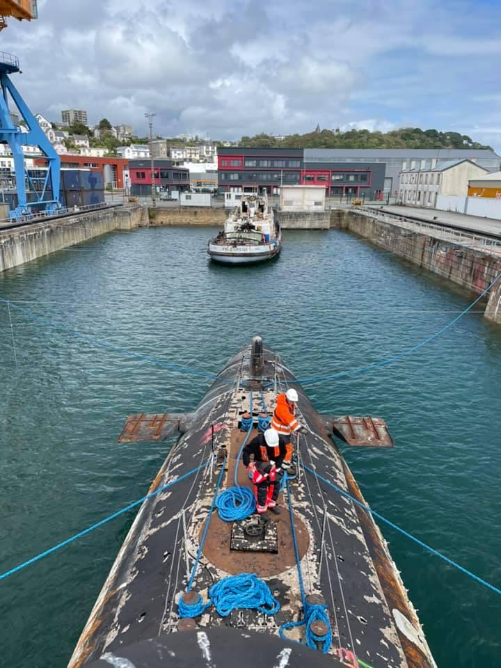 [Autre sujet Marine Nationale] Démantèlement, déconstruction des navires - TOME 2 - Page 23 23245710