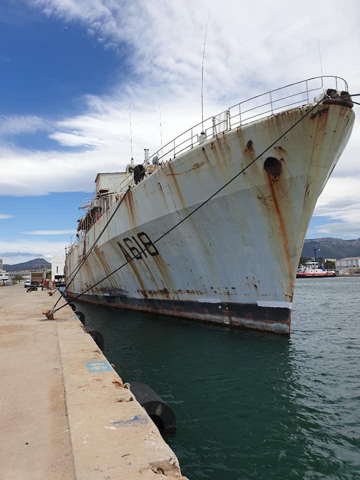 [Autre sujet Marine Nationale] Démantèlement, déconstruction des navires - TOME 2 - Page 42 61237410