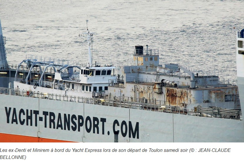 [Autre sujet Marine Nationale] Démantèlement, déconstruction des navires - TOME 2 - Page 21 Captur13