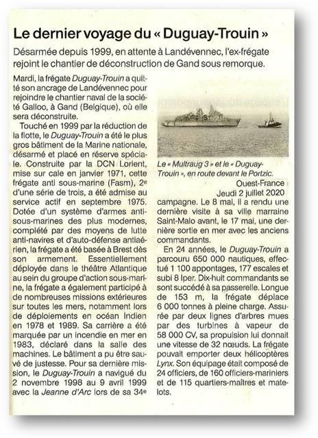 DUGUAY TROUIN (FRÉGATE) - Page 6 Dgt10