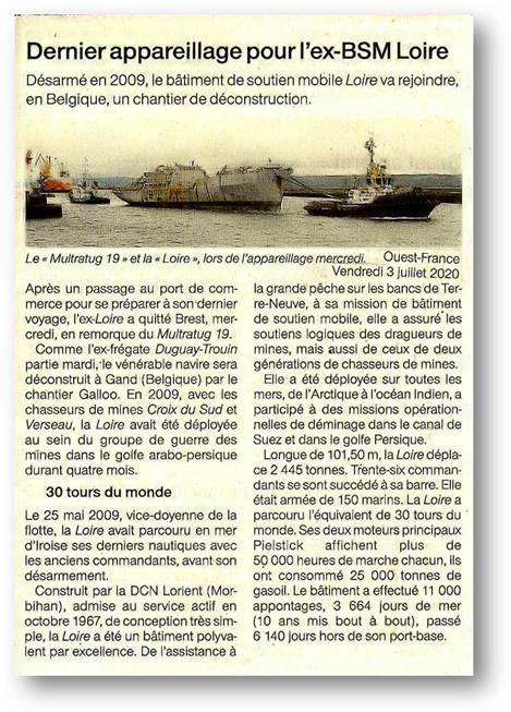 [Autre sujet Marine Nationale] Démantèlement, déconstruction des navires - TOME 2 - Page 7 Lre11