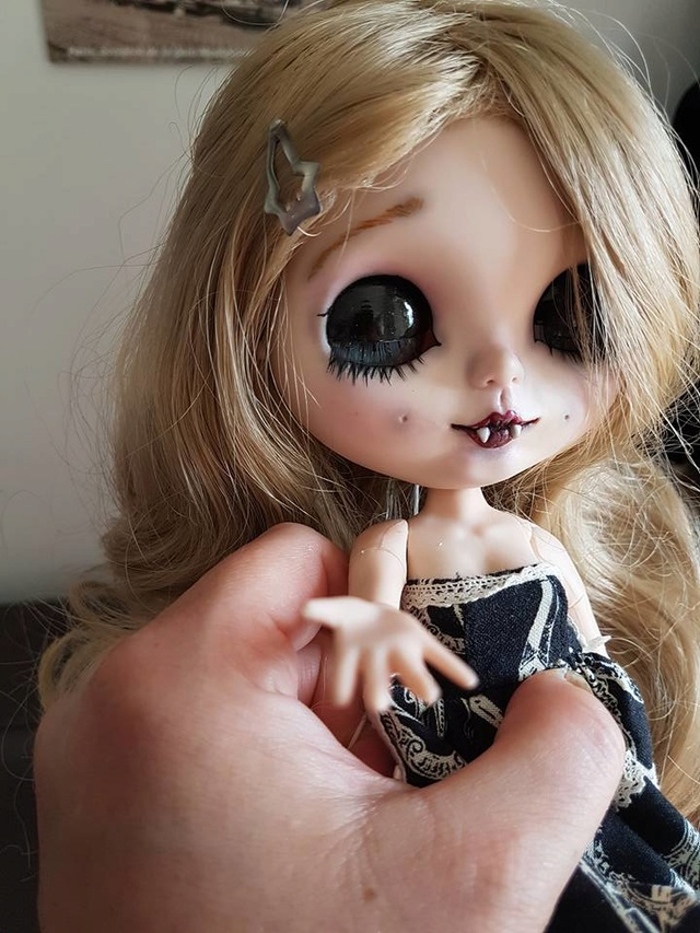 [v] ningyou tachi: 2 blythes custo  full set 19702510