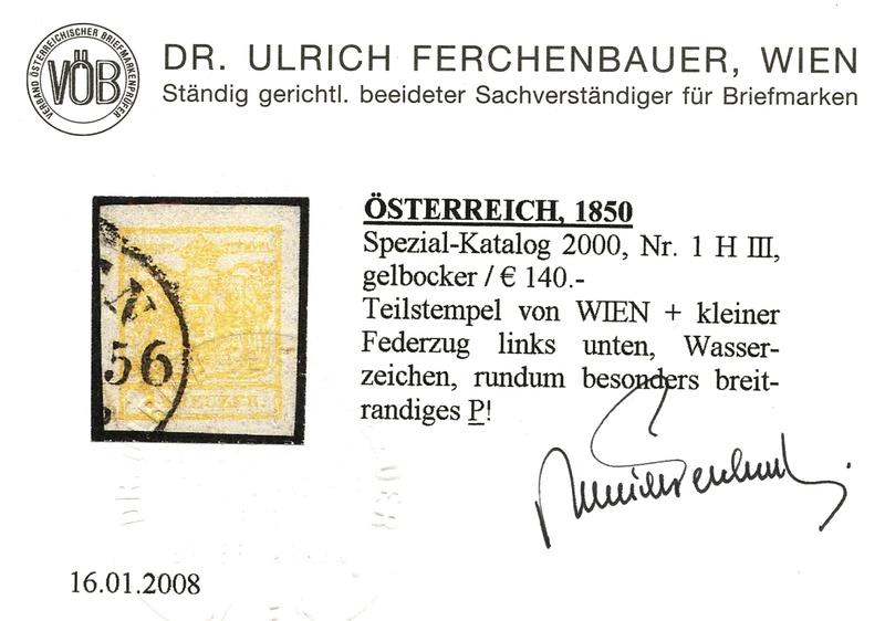 Die erste Österreichische Ausgabe 1850 - Seite 13 1h_iii12
