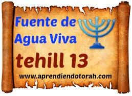 tehill 13 - YAHWEH, Escucha a Tu siervo 1310