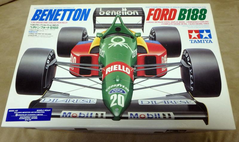 Benetton B188 P9110510