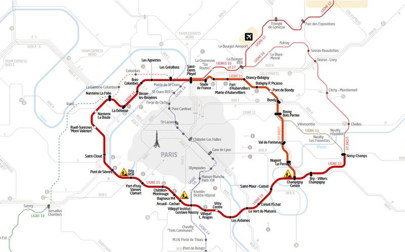 Jeux olympiques 2024 à Paris Ligne110