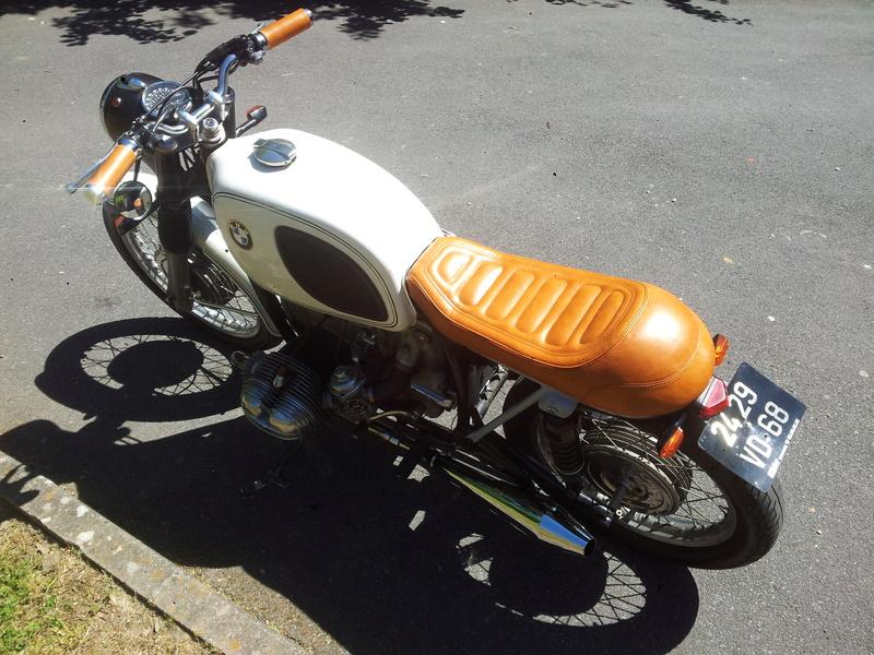 R75/5 1971 cafe racer ou bratstyle ou autre? 20170519