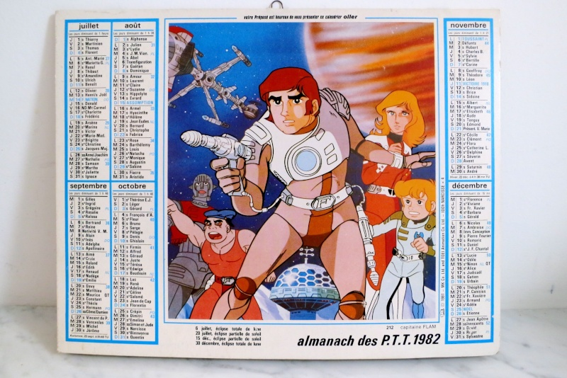 Les jouets CAPITAINE FLAM - Captain Future - Futuro  Almana10