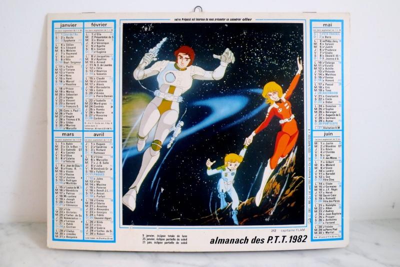 Les jouets CAPITAINE FLAM - Captain Future - Futuro  Almana11