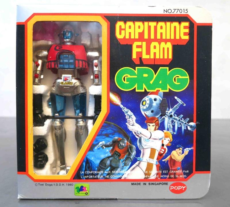 Les jouets CAPITAINE FLAM - Captain Future - Futuro  Grag10