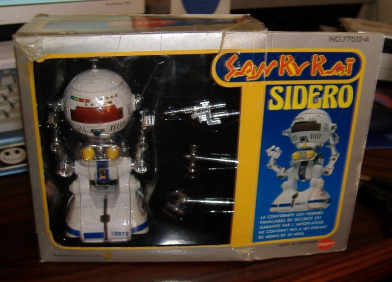 SAN KU KAI, c'est la bataille... Message from space - POPY Sidero10