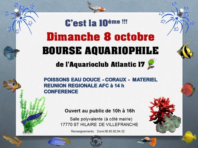 Bourse  Saint Hilaire 2017  Affich10