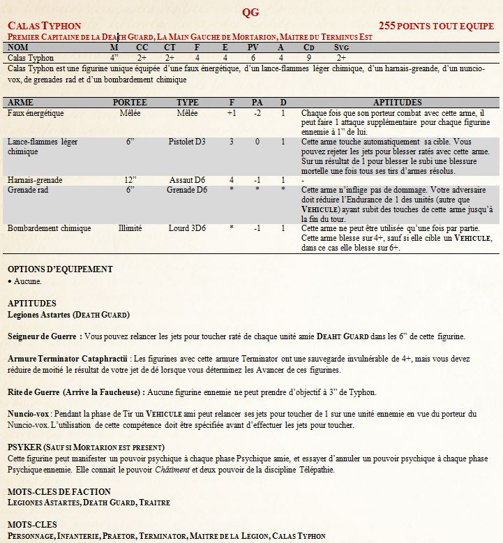 [Règles] Projet Horus Heresy V8 : Death Guard - Page 2 Typhon10