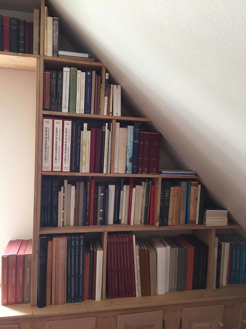 Nouvelle maison, nouvelle bibliothèque... B110