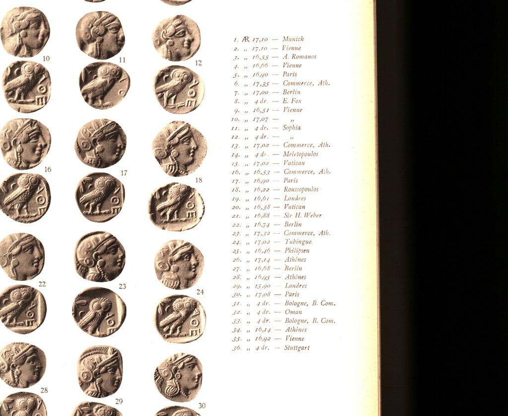 Svoronos Les monnaies d'Athènes Ptdc0612