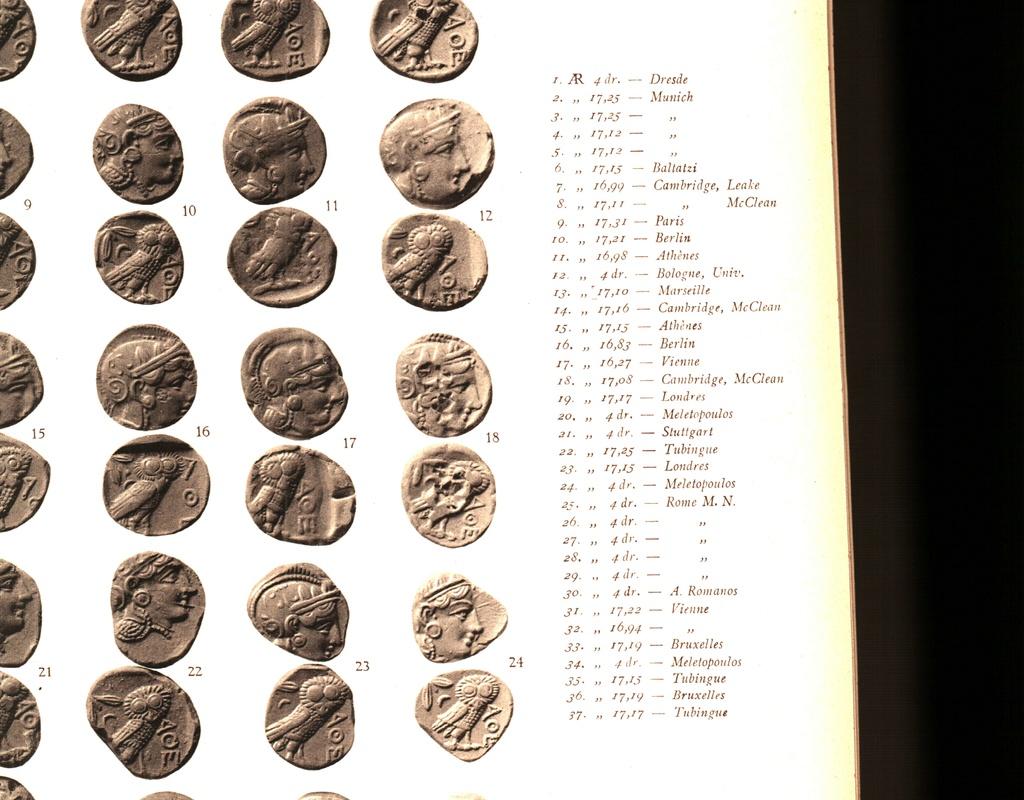 Svoronos Les monnaies d'Athènes Ptdc0613