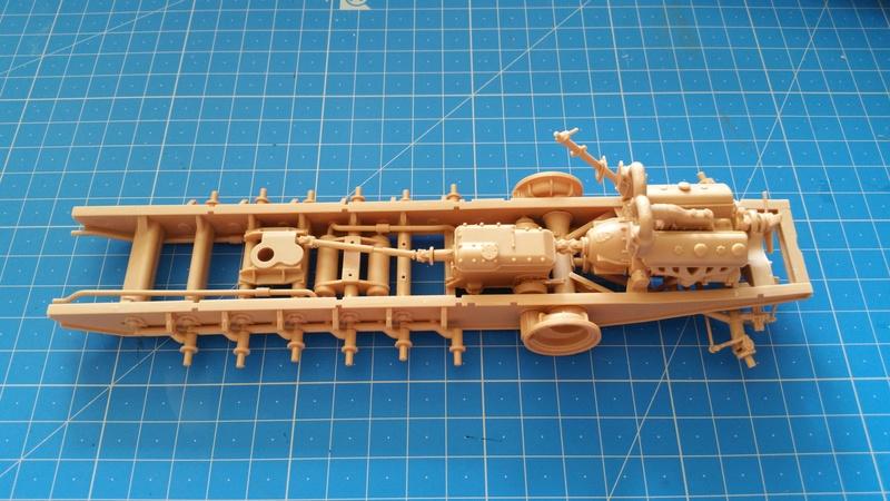 German Sd.Kfz.8 db10 Gepanzerte 12t - 1/35 Trumpeter 20170713