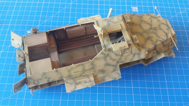 German Sd.Kfz.8 db10 Gepanzerte 12t - 1/35 Trumpeter - Page 2 20170940