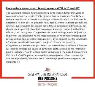 [Partenariat-OIP] Breves de prisons : la réalité. - Page 6 Sourd12
