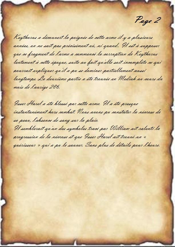 Compte rendu de mission : La Griffe. Etude_13