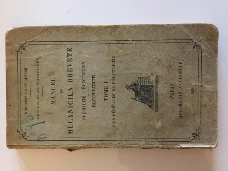 Manuel du Mécanicien breveté : spécialité électricien Img_0114