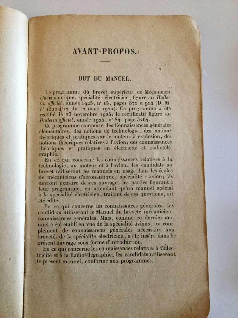 Manuel du Mécanicien breveté : spécialité électricien Img_0115