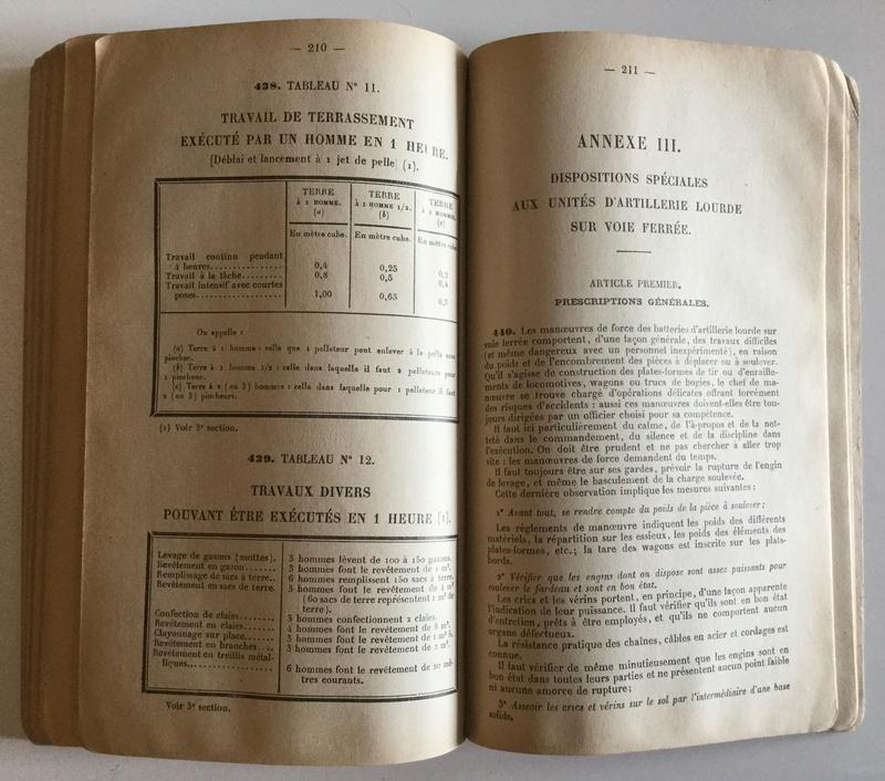 Règlement de manoeuvre de l'Artillerie 1ère partie - Edition 1940  Img_0131