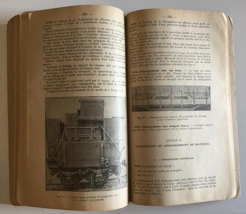 Règlement de manoeuvre de l'Artillerie 1ère partie - Edition 1940  Img_0132