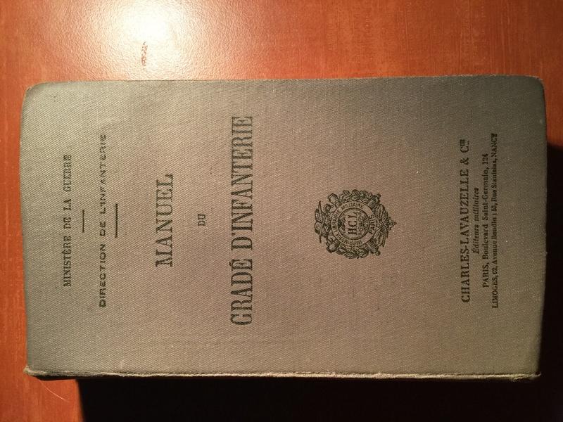 Manuel du Gradé d'Infanterie - Edition 1930 Img_0262