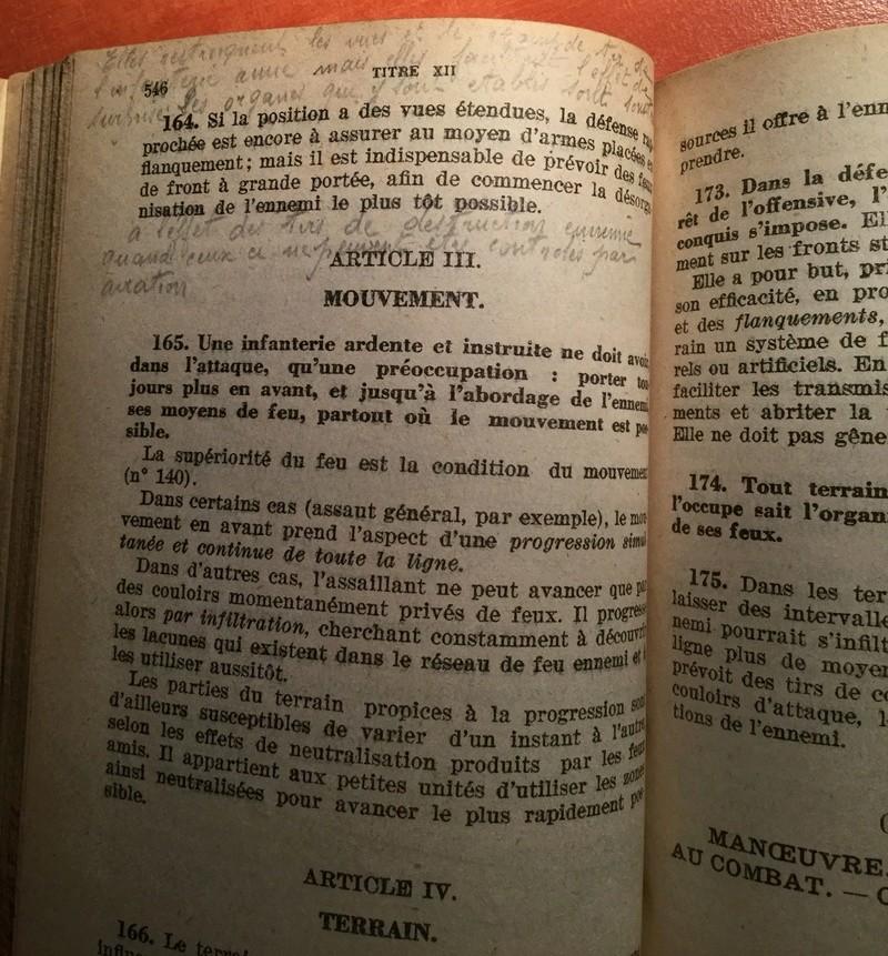 Manuel du Gradé d'Infanterie - Edition 1930 Img_0310