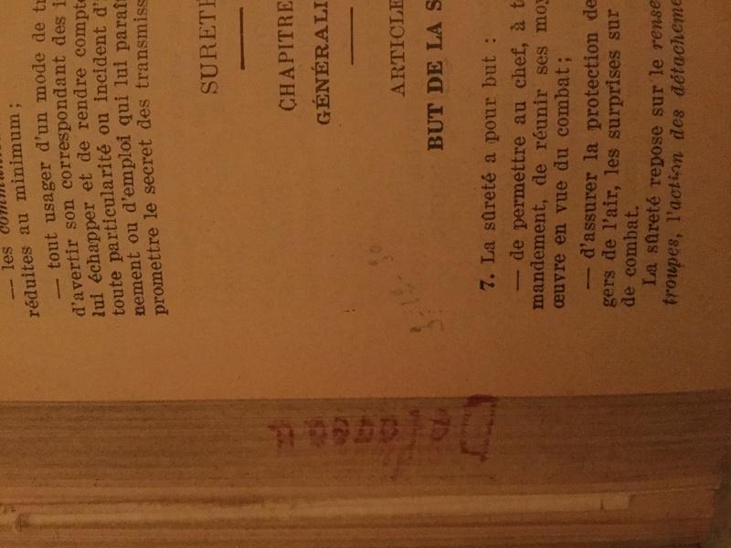 Manuel du Gradé d'Infanterie - Edition 1930 Img_0312