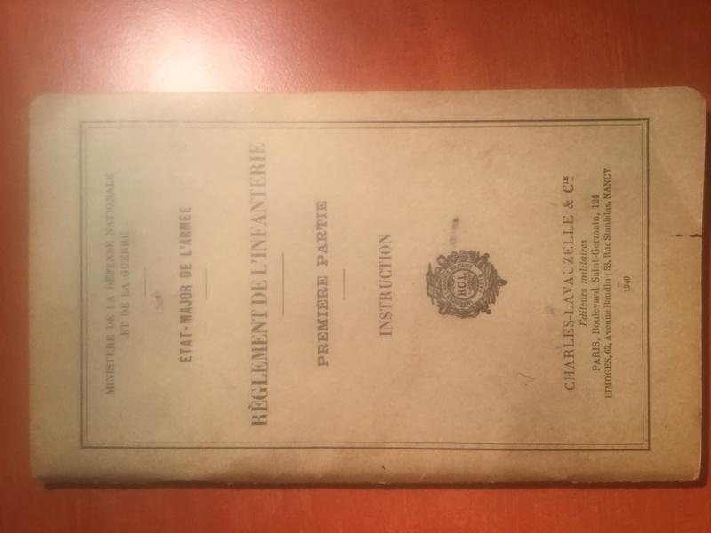Règlement de l'Infanterie - Edition 1940 Img_0313