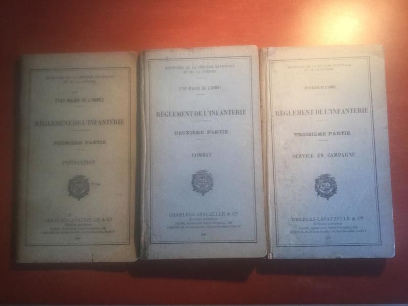 Règlement de l'Infanterie - Edition 1940 Img_0314