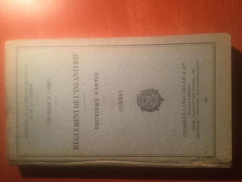 Règlement de l'Infanterie - Edition 1940 Img_0315