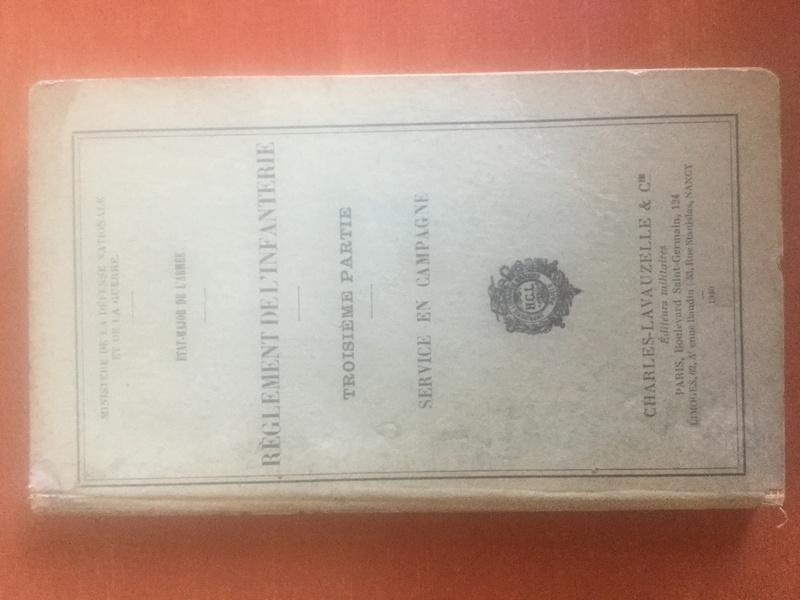 Règlement de l'Infanterie - Edition 1940 Img_0316