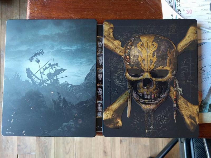 [DVD + BD + BD3D + STEELBOOK] Pirates des Caraïbes - La Vengeance de Salazar (21/09 en Digital - 06/10 en physiques - 16/10 en VOD) - Page 2 22195610