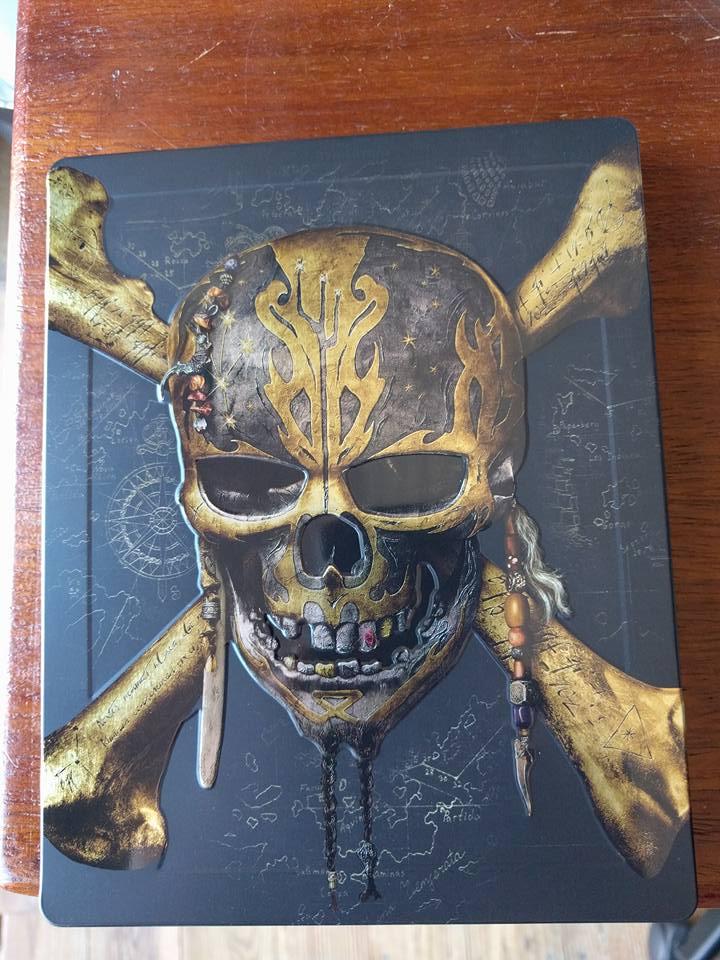 [DVD + BD + BD3D + STEELBOOK] Pirates des Caraïbes - La Vengeance de Salazar (21/09 en Digital - 06/10 en physiques - 16/10 en VOD) - Page 2 22196310
