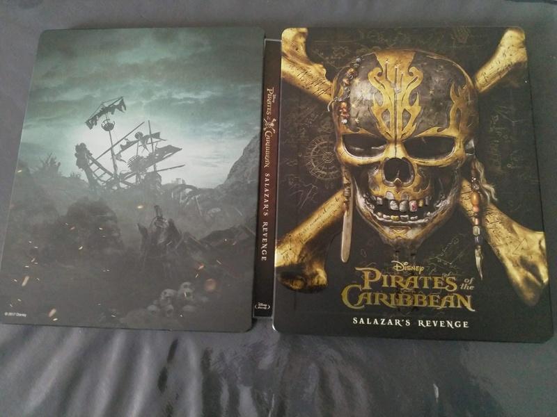 [DVD + BD + BD3D + STEELBOOK] Pirates des Caraïbes - La Vengeance de Salazar (21/09 en Digital - 06/10 en physiques - 16/10 en VOD) - Page 2 22219410