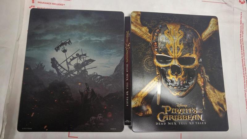 [DVD + BD + BD3D + STEELBOOK] Pirates des Caraïbes - La Vengeance de Salazar (21/09 en Digital - 06/10 en physiques - 16/10 en VOD) - Page 2 Pirate12