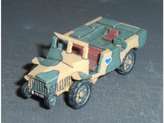 Les blindés et véhicules français en impression 3D 17cc0310