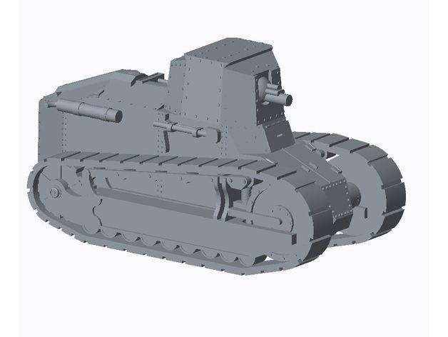 Les blindés et véhicules français en impression 3D 380b7310