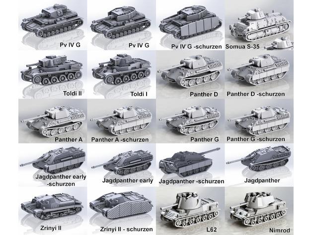 Les blindés et véhicules français en impression 3D 425f1010