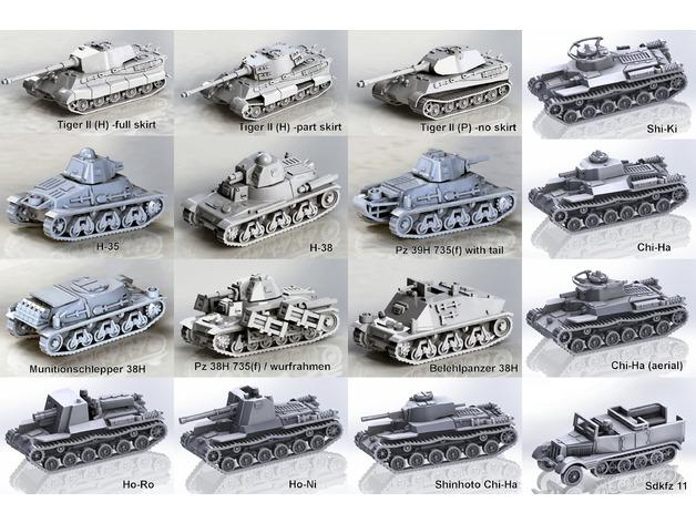 Les blindés et véhicules français en impression 3D 51f6f710